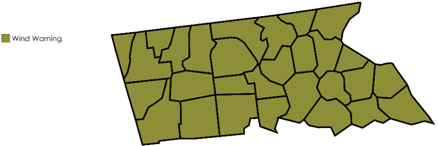 United States Counties MapChart(14)