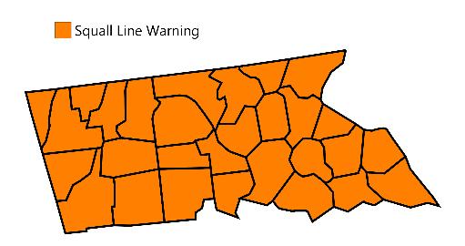 United States Counties MapChart(4)